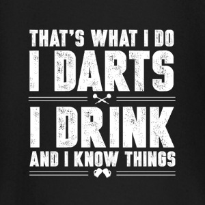 Darts and alcohol Baby Long Sleeve Shirts - Baby Long Sleeve T-Shirt