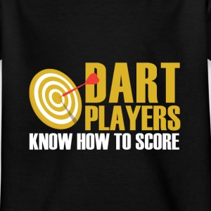 Darts player Shirts - Kids' T-Shirt