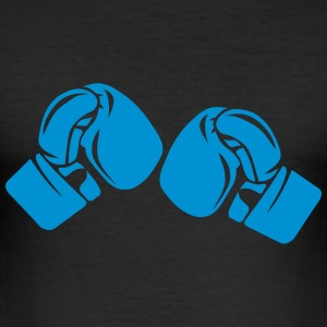 Boxing glove 16127 T-Shirts - Men's Slim Fit T-Shirt