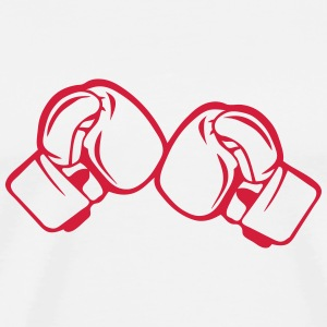 Boxing glove 161222 T-Shirts - Men's Premium T-Shirt
