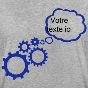 Bubble gear add text T-Shirts - Women's Oversize T-Shirt
