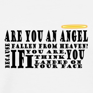 Are you an angel? - Men's Premium T-Shirt