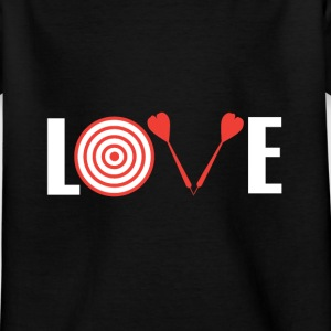 Love Darts T-shirts - Børne-T-shirt