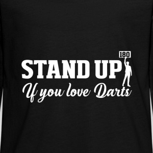 Stand up Dart Long Sleeve Shirts - Teenagers' Premium Longsleeve Shirt