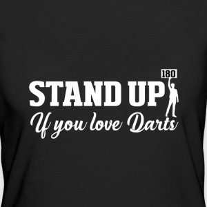 Stand up Dart T-shirts - Organic damer