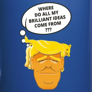 Trump's brilliant ideas - Tasse einfarbig
