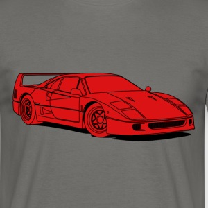 f40 red T-shirts - Herre-T-shirt