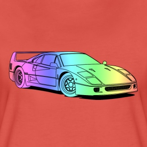 f40 colourful T-Shirts - Women's Premium T-Shirt