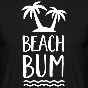 Beach Bum | Cool Summer Design Tee shirts - T-shirt Homme