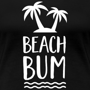 Beach Bum | Cool Summer Design T-shirts - Premium-T-shirt dam