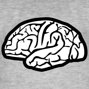 Brain T-Shirts - Men's Vintage T-Shirt