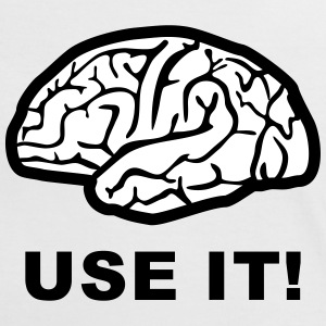 Brain - use it! Tee shirts - T-shirt contraste Femme