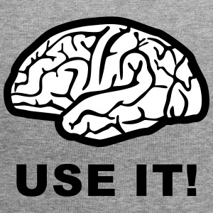 Brain - use it! Caps & luer - Jersey-beanie