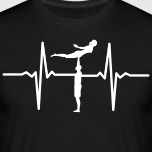 Heartbeat Acrobatic Tee shirts - T-shirt Homme