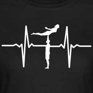 Heartbeat Acrobatic T-Shirts - Frauen T-Shirt