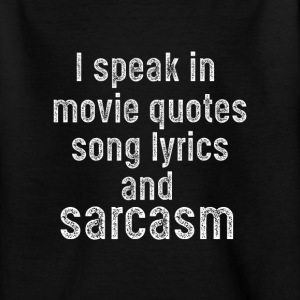sarcasm T-shirts - Teenager-T-shirt