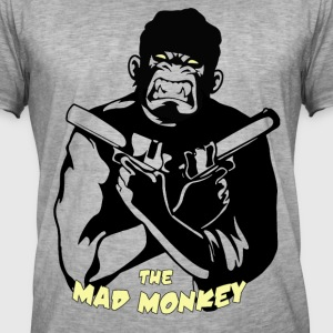 The Mad Monkey 14 - Männer Vintage T-Shirt
