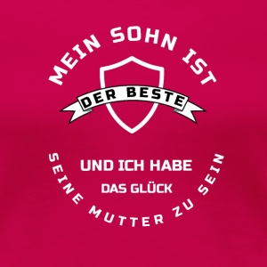 bester SOHN/Mutter T-Shirts - Frauen Premium T-Shirt