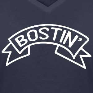 Bostin' Birmingham Dialect T-Shirts - Women's V-Neck T-Shirt