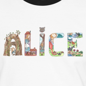 Alice name Tee shirts - T-shirt contraste Homme