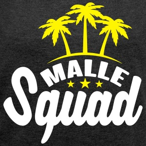 Malle Squad T-Shirts - Women's T-shirt with rolled up sleeves