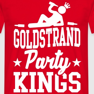 Goldstrand Party Kings T-shirts - Herre-T-shirt