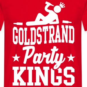 Goldstrand Party Kings T-shirts - Mannen T-shirt