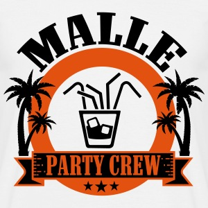 Malle Party Crew T-shirts - Mannen T-shirt