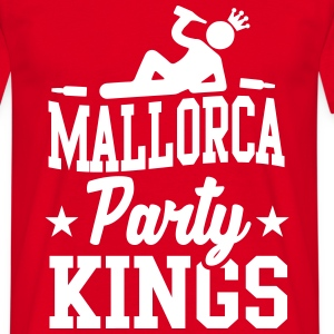 Mallorca Party Kings T-shirts - Mannen T-shirt