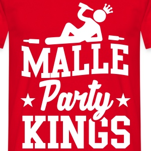 Malle Party Kings T-shirts - Mannen T-shirt
