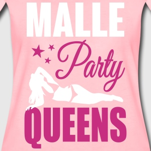 Malle Party Queens T-shirts - Dame premium T-shirt