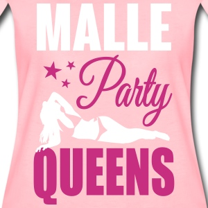 Malle Party Queens T-skjorter - Premium T-skjorte for kvinner