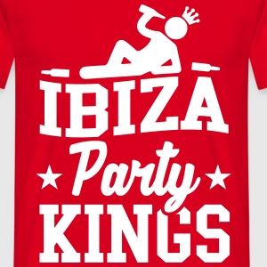Ibiza Party Kings T-shirts - Mannen T-shirt
