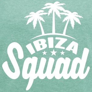 Ibiza Squad T-Shirts - Women's T-shirt with rolled up sleeves