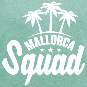 Mallorca Squad T-Shirts - Women's T-shirt with rolled up sleeves