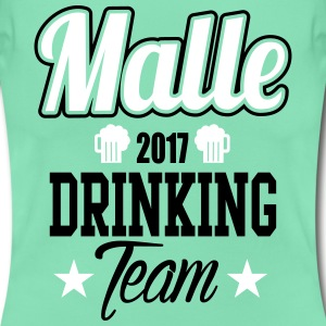 Malle Drinking Team T-skjorter - T-skjorte for kvinner