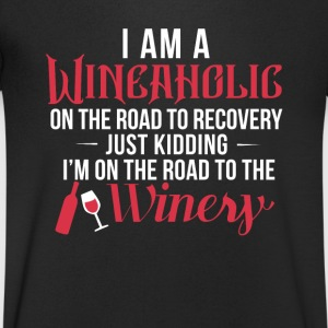 Wein Wine T-Shirts - Men's V-Neck T-Shirt