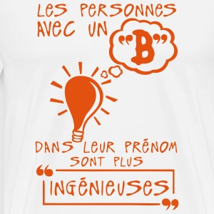 personnes b prenom ingenieuse citation Tee shirts - T-shirt Premium Homme