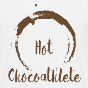 Hot Chocoathlete - Männer T-Shirt