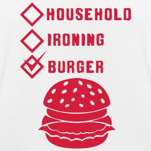 burger household ironing case cohe ok T-Shirts - Women's Oversize T-Shirt