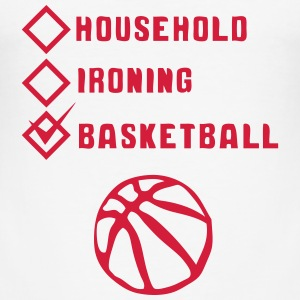 basketball household ironing case cohesive T-Shirts - Men's Slim Fit T-Shirt