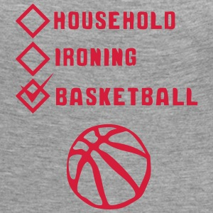 basketball household ironing case cohe Manches longues - T-shirt manches longues Premium Femme