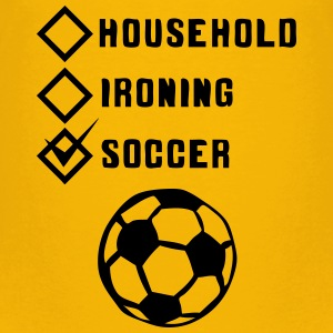 soccer household ironing case cohesive ok Shirts - Kids' Premium T-Shirt