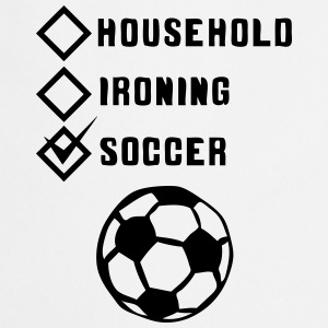 soccer household ironing case cohesive ok  Aprons - Cooking Apron