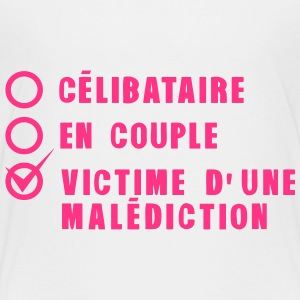 celibataire couple malediction amour Tee shirts - T-shirt Premium Ado