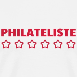 filateli / filatelist / Philatelie / Philatelist T-shirts - Herre premium T-shirt
