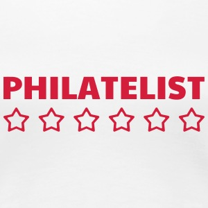 filateli / filatelist / Philatelie / Philatelist T-shirts - Premium-T-shirt dam