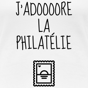 filateli / filatelist / Philatelie / Philatelist T-shirts - Dame premium T-shirt