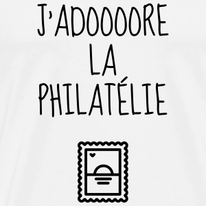 Philatéliste Stamp Philatelie Philatelist Stempel T-Shirts - Men's Premium T-Shirt