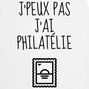 Philatéliste Stamp Philatelie Philatelist Stempel  Aprons - Cooking Apron